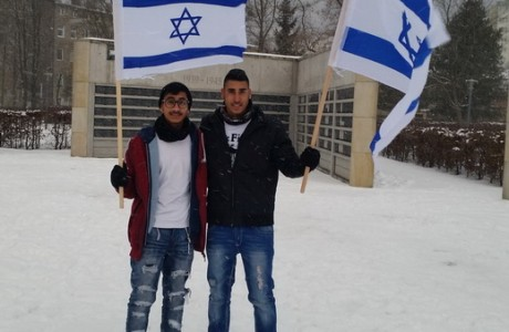 תלמידים במסע לפולין