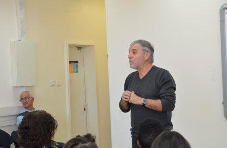 חבר הכנסת מאיר כהן מתנועת עתיד הגיע לביקור בבית הספר